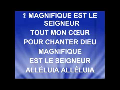 MAGNIFIQUE EST LE SEIGNEUR - Nicolas Ternisien