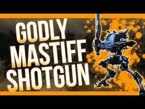GODLY SHOTGUN! Titanfall 2 Mastiff Multiplayer Gameplay/Review (Xbox One)