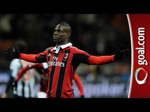 Massimiliano Allegri praises Mario Balotelli's AC Milan debut