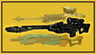 Destiny Rise of Iron: Black Spindle vs. Devil's Dawn vs. Event Horizon - Sniper Comparison