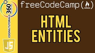 Convert HTML Entities: FreeCodeCamp.com Intermediate Algorithm Scripting