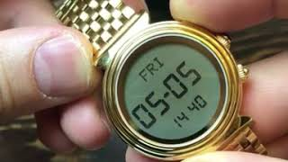 Кибла. Настройка Alfajr WF 14.Часы для мусульман