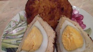 Рецепт очень вкусных куриных зраз с яйцом