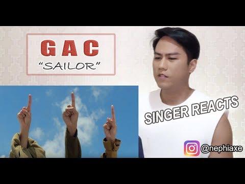GAC Gamaliél Audrey Cantika - Sailor Official Music Video | REACTION