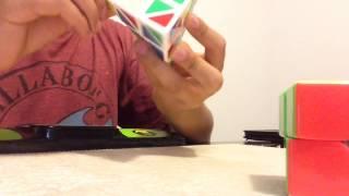 example solve 2x2 y pyraminx