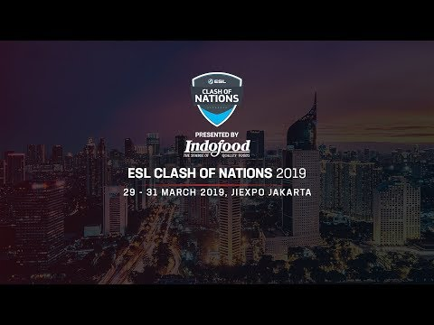 ESL Clash Of Nations - Arena Of Valor Day 2
