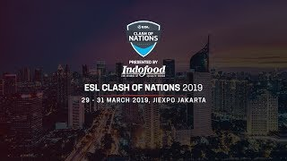 ESL Clash of Nations Arena of Valor Day 2