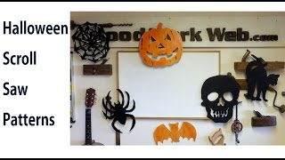 Easy Scroll Saw Patterns for Halloween - A woodworkweb.com video