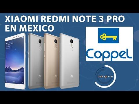 Xiaomi Redmi Note 3 Pro en Coppel Mexico