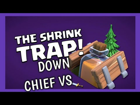 Clash of Clans: Shrink Down! New Trap! Witches as Builders!