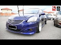 Toyota Vios Lowered Stancer - Meet And Greet Koi Stance 2017.