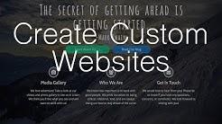 Make a Custom Website with WordPress - Elementor Page Builder!