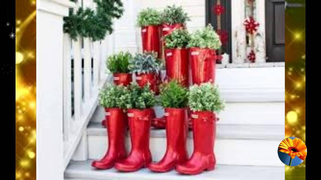 Decora el jardin para navidad 60 ideas que te encantaran youtube - Como decorar un salon en navidad ...
