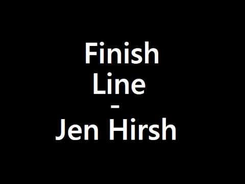 Jen Hirsh - Finish Line