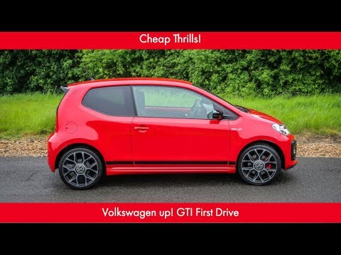 Cheap Thrills! VW up! GTI First Drive