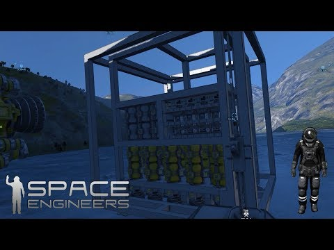 Space engineers Med Benny - Designer en kæmpe BORG-CUBE !
