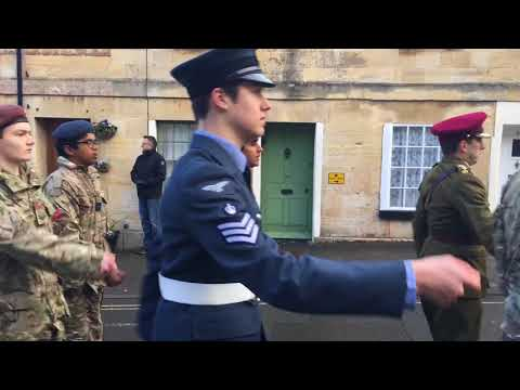Winchcombe Remembrance Parade 2017