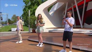 Schlagerkids - Mit 13 hat man noch Träume - | ZDF-Fernsehgarten, 13.06.2021