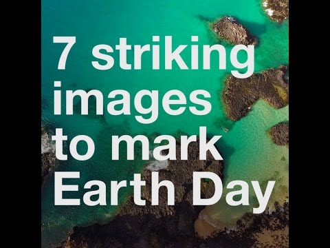 7 striking images to mark Earth Day