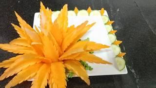 Alô Cú Đêm - Hướng dẫn tỉa hoa chùm từ cà rốt