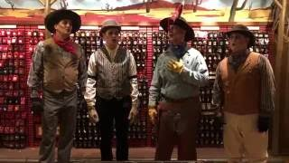 The Cadaver Dans sing Boo To You at Mickey's Not So Scary Halloween Party 2016 - Magic Kingdom