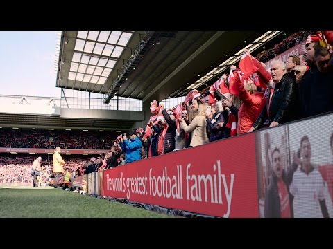 Liverpool FC fans from around the world come together to 'Sing for LFC'