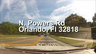 Powers Dr from Clarcona-Ocoee Rd to Silver Star Rd