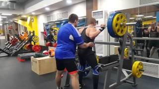 Присед 130 кг на 5 раз  15 03 2016