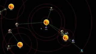 Simple simulation of the Solar system using Java's Graphics2D