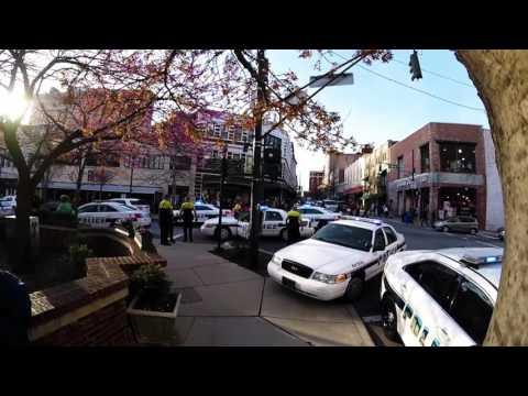 Asheville Police Arrest Axe Man at Pritchard Park