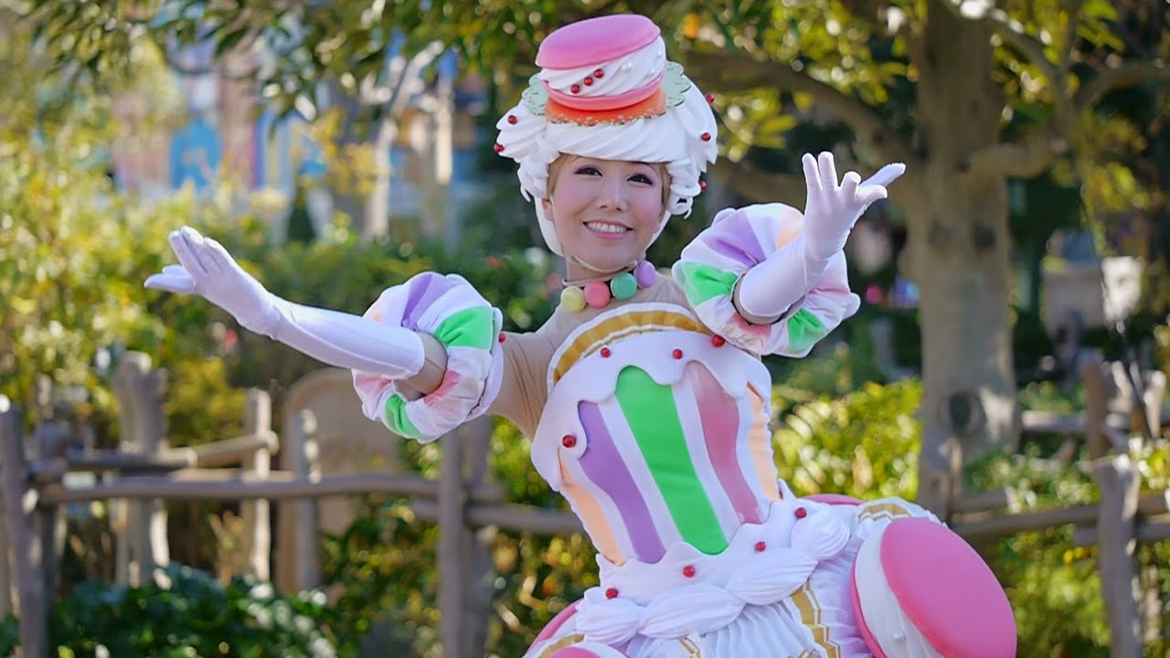 tdl】 ディズニー・サンタヴィレッジ・パレード2014 『ダンサーさん