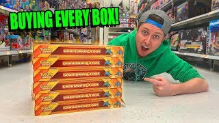 BUYING EVERY CHARIZARD POKEMON CARD BOX AT WALMART! Opening & Hidden Search