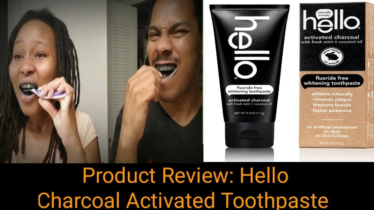 Product Review Hello Charcoal Activated Toothpaste Black
