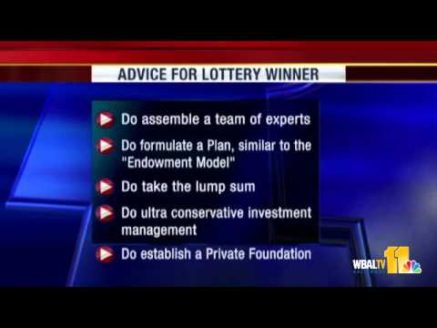 Dos, Don'ts For Lottery Winners