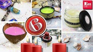 6 идей КАК сделать СВЕЧИ СВОИМИ РУКАМИ * Декоративные восковые свечи | Eva-Konfetti