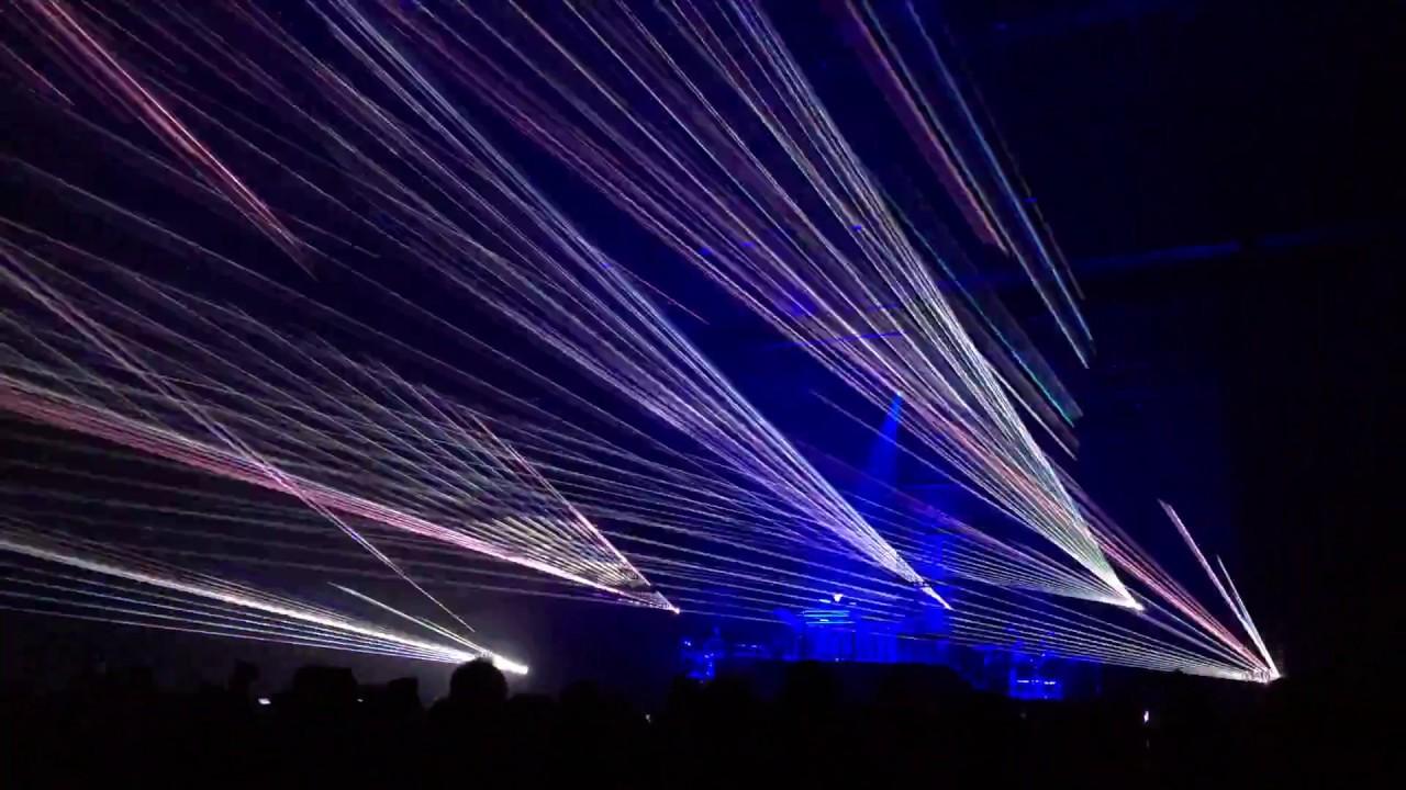 Jean-Michel Jarre -  Zero Gravity (Above & Beyond Remix) + Laser show