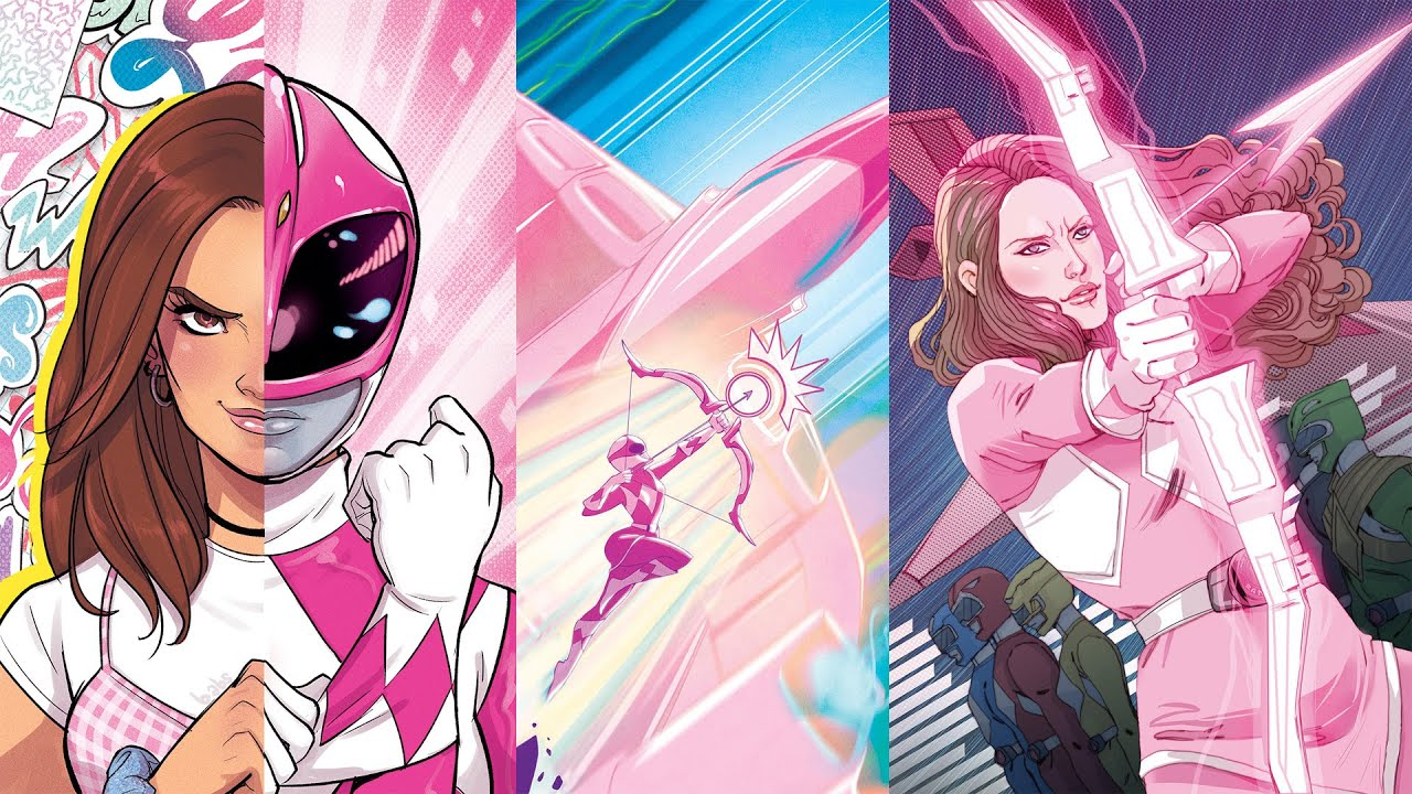 Mighty Morphin Power Rangers Pink Boom Studios Comic 1