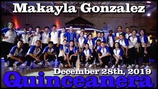 Makayla Gonzalez Quinceanera Surprise Dance | Father Daughter Silhouette Dance