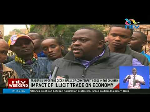 Traders, importers decry influx of counterfeit goods in the country