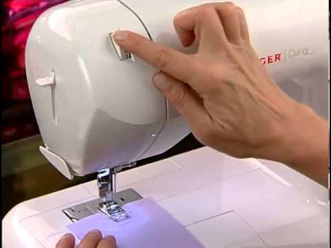 Primeros pasos, Enhebrado de maquina de coser SINGER - YouTube