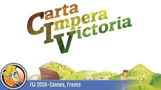 CIV: Carta Impera Victoria — game preview at FIJ 2018 in Cannes