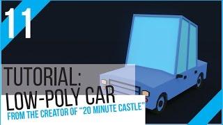 Blender Tutorial: Low Poly Car!
