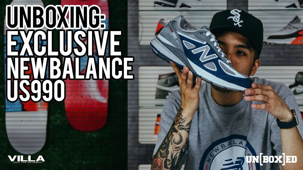 best service e7d5a 30c97 UNBOXED: DTLR VILLA NEW BALANCE US990 EXCLUSIVE EP. 22