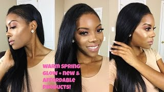 Warm Spring Glow Makeup Tutorial + New and AFFORDABLE Products!