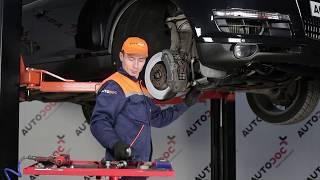 Wie AUDI Q7 (4L) Bremstrommel auswechseln - Tutorial