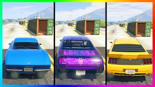 new fastest muscle car in gta online sabre turbo custom vs other muscle cars speed test gta 5