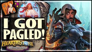 I FINALLY GOT PAGLED! - Hearthstone Battlegrounds