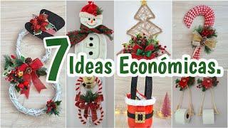 7 Ideas Económicas De NAVIDAD Para Vender o Regalar - Manualidades Navideñas 2020 -   7 DIY NATAL