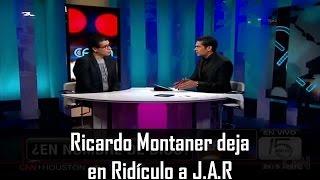 Ricardo Montaner deja en ridículo a J.A.R
