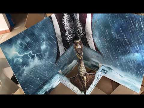 Vinyl Unboxing:  Amon Amarth - Jomsviking...